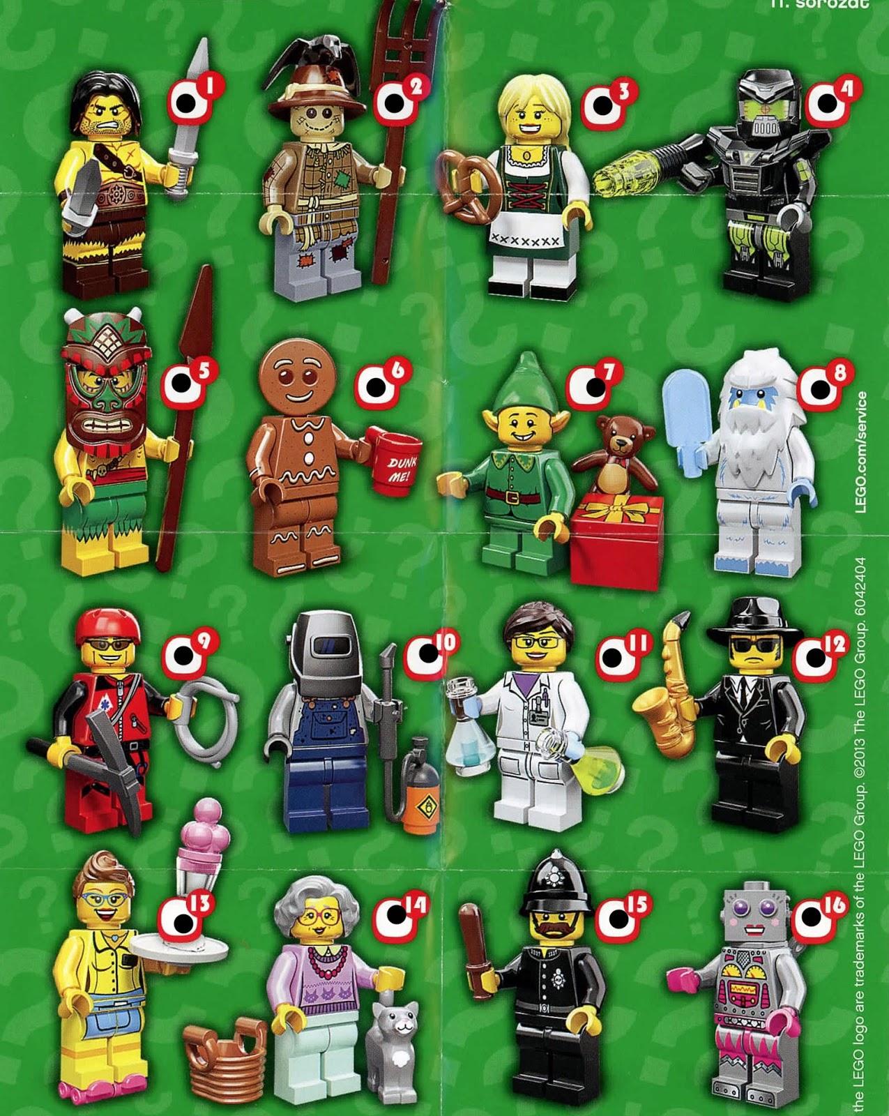 Good Thingz: Series 11 Lego Minifigures