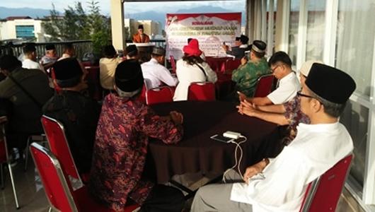 Sosialisasi Multaqo Ulama, Masoed Abidin Jabarkan Pentingnya Kesetian Kepada NKRI dan Pancasila