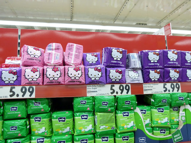 Podpaski Hello Kitty...