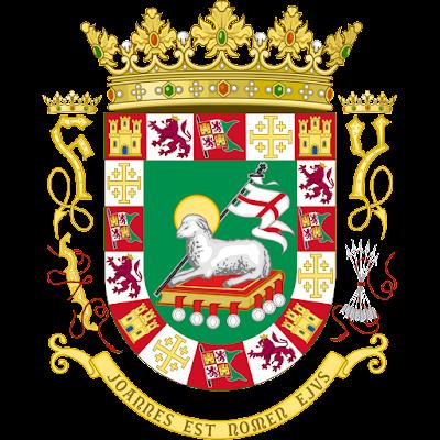 Coat of arms - Flags - Emblem - Logo Gambar Lambang, Simbol, Bendera Negara Puerto Riko