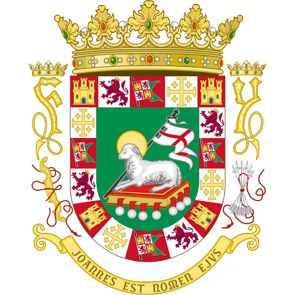 Logo Gambar Lambang Simbol Negara Puerto Riko PNG JPG ukuran 600 px