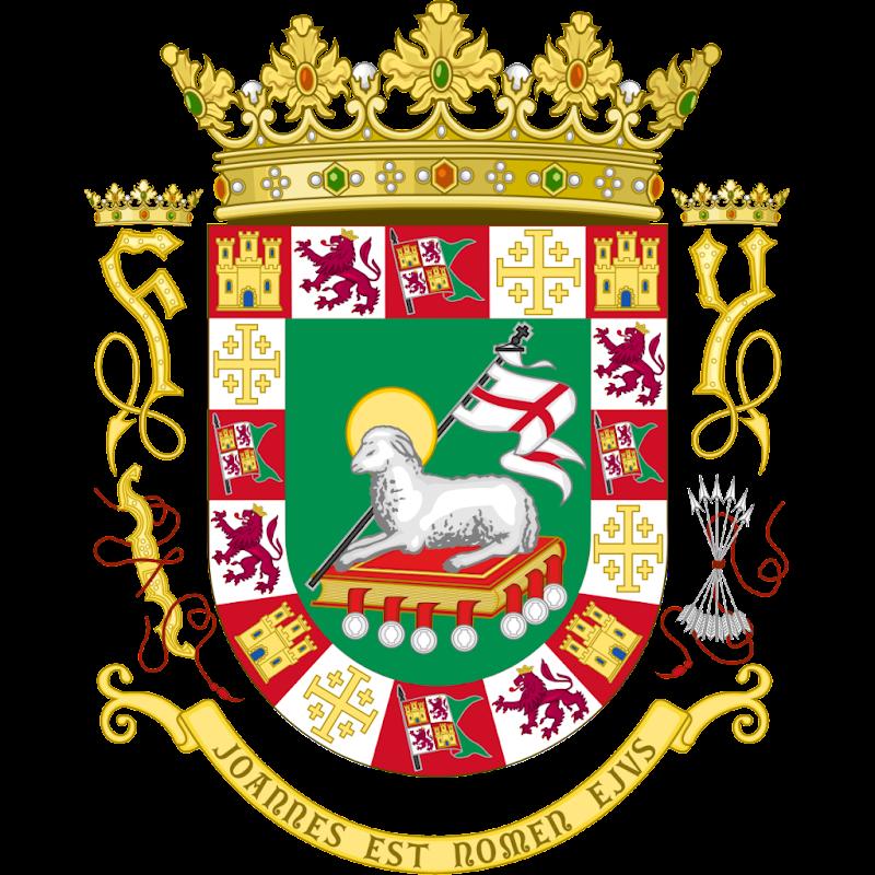 Logo Gambar Lambang Simbol Negara Puerto Riko PNG JPG ukuran 800 px