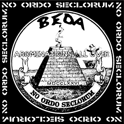 ABOMINATIONS ALL OVER & BEDA 'No Ordo Seclorum' Split (2015)
