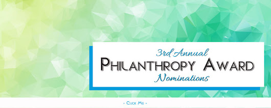 2016 Philanthropy Award Nominations Now Open