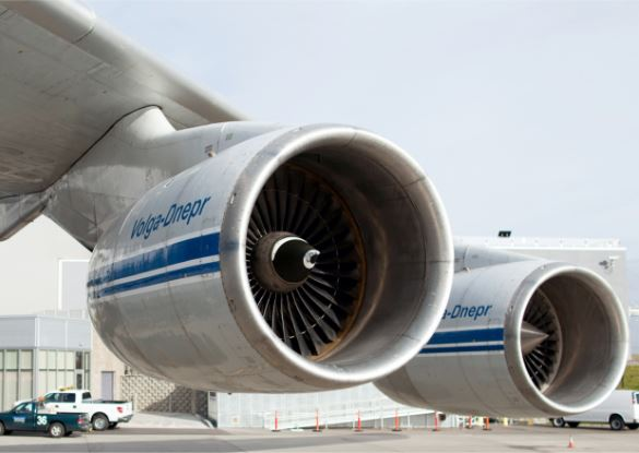 Antonov An-124 engine
