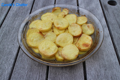 Carole's Chatter: Scalloped Potatoes & Kumara using Pork and Celery Top Stock