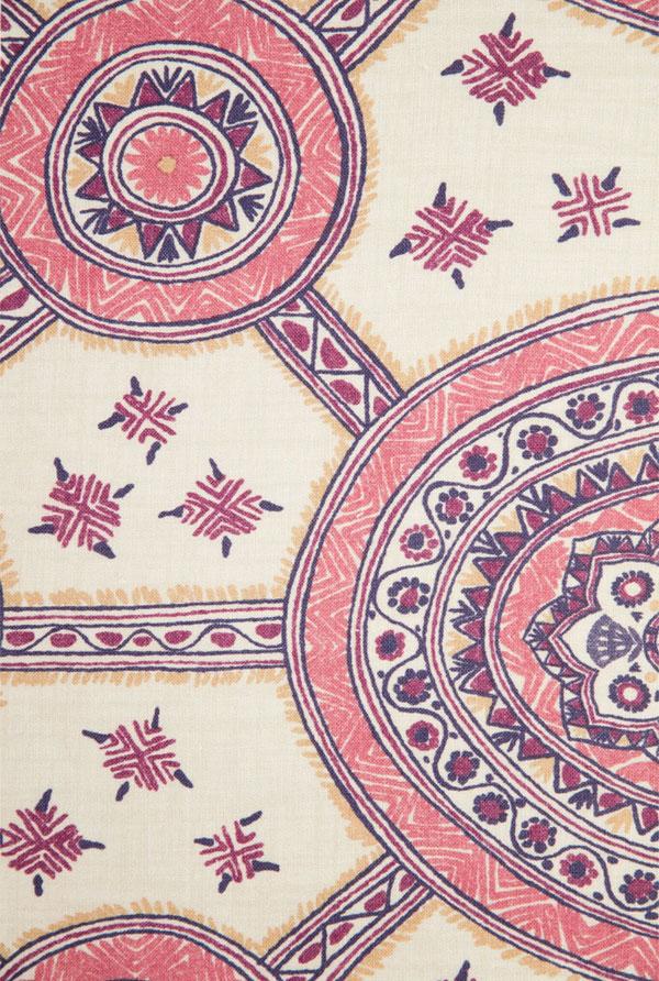 Schuyler Samperton Textiles, hönnun, mynstur, efni: Nellcote