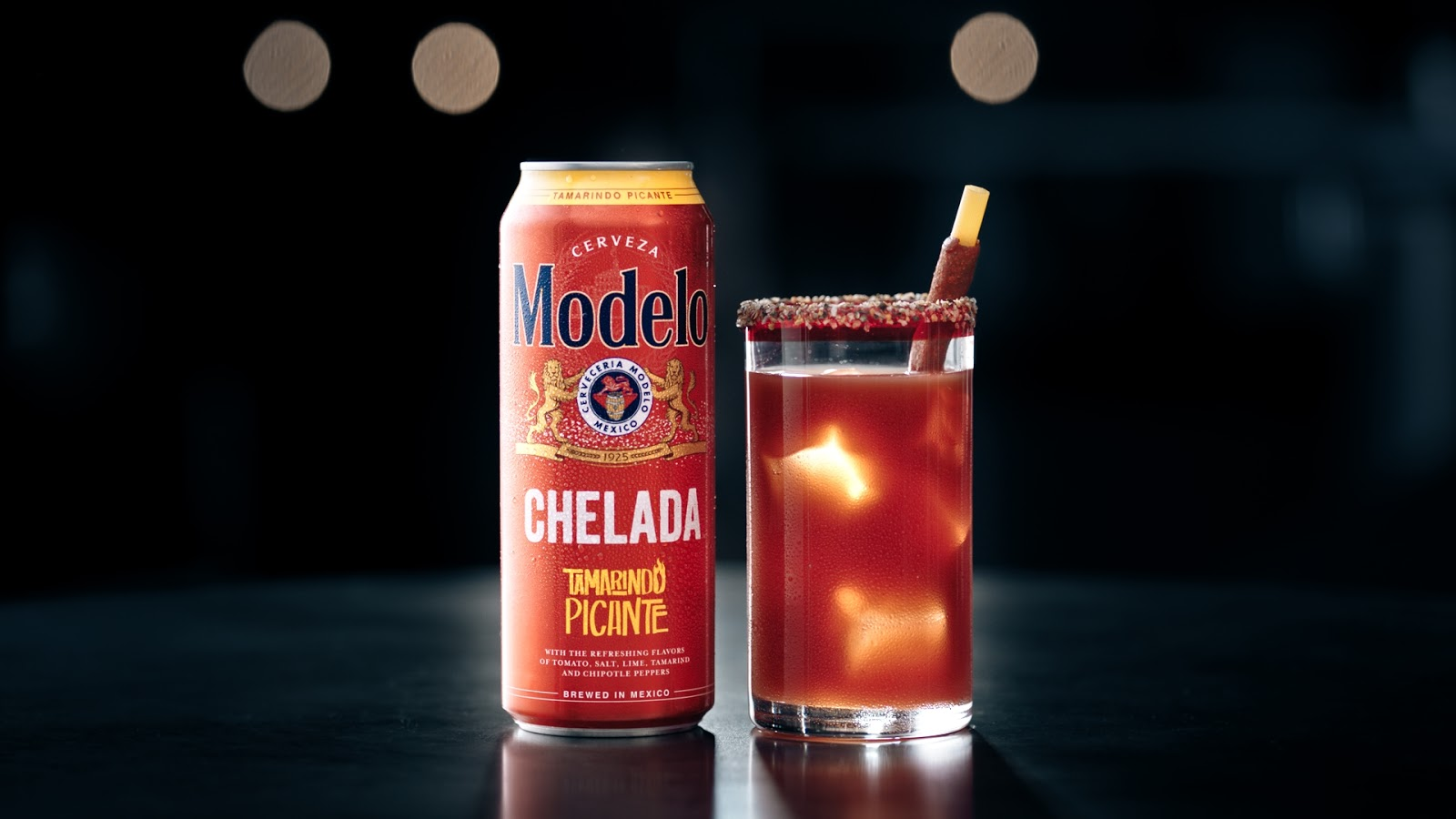 I love that the Modelo Chelada Tamarindo Picante saves me time by selling the drink in a ready to serve can.