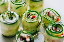 Greek Salad Sushi #sushi #healthy