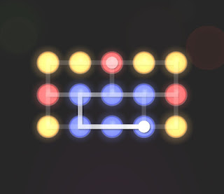Solution, Cheats, Walkthrough for Neon Hack [Neon Dots] Level 48