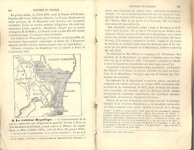 livre d'histoire, 1896 (collection musée)