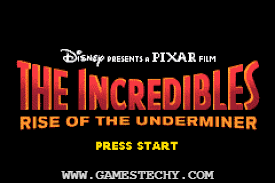 Download The Incredibles Rise of the Underminer PSP ISO