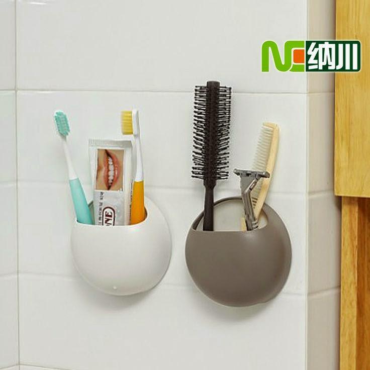 Организация ванной. Идеи хранения зубных щеток