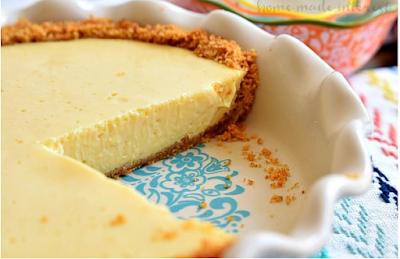 LEMON ICEBOX PIE #cake