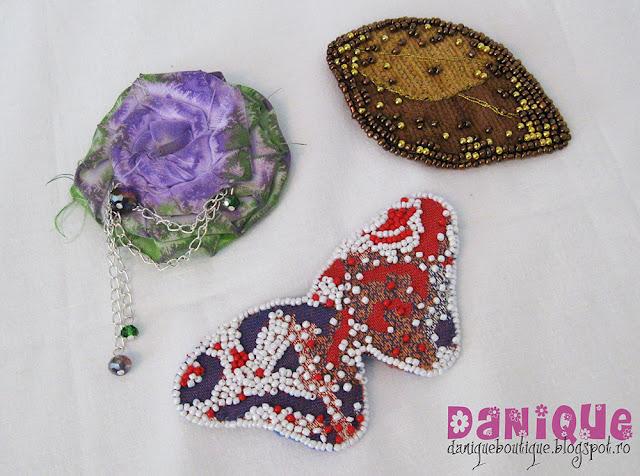 brose din materiale textile - 50,00lei/buc
