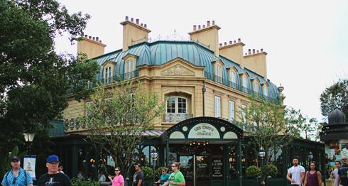 France Pavilion Epcot