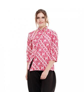 Blus Batik Modern Yang Modis