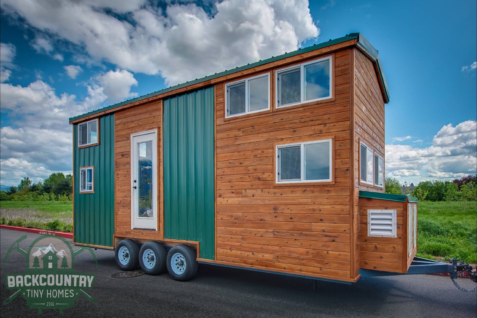 Tiny house town the juniper from backcountry tiny homes for Juniper house