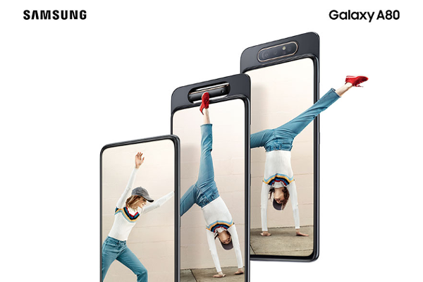 SAMSUNG Galaxy A80 goes official with 48MP pop-up rotating camera, 6.7-inch FHD+ Super AMOLED Infinity Display and Snapdragon 730G