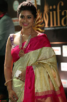 Sneha Looks Super cute in Red Silk Saree at IIFA Utsavam Awards 020.JPG