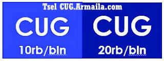 Perbedaan CUG SMS Nelpon 10K dan 20K CUG Telkomsel