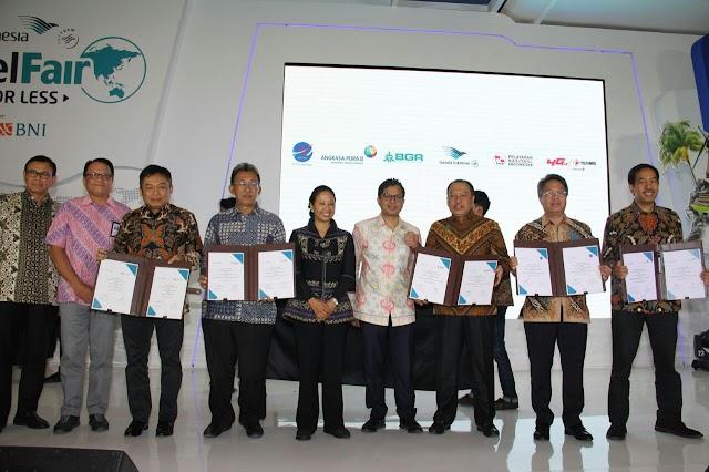 GARUDA INDONESIA DAN BNI KEMBALI GELAR GATF 2017 PHASE II