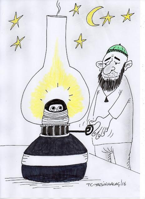 ampule püf de karikatürü