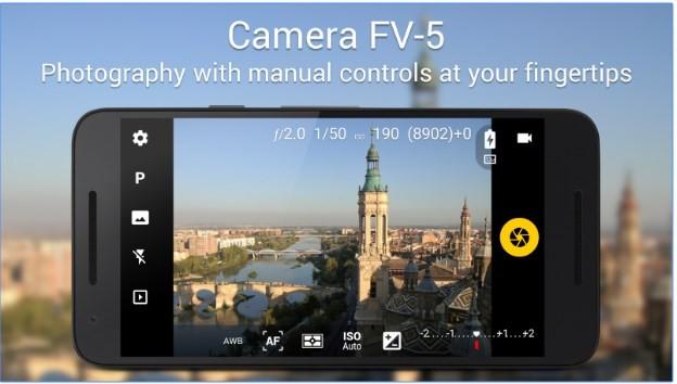 Aplikasi kamera terbaik - Camera FV-5