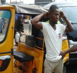 tricyle operator errand boy