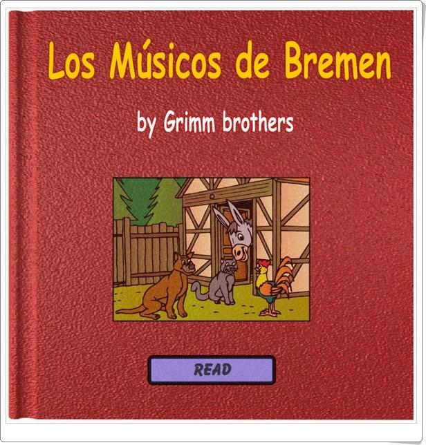 """""""Los Músicos de Bremen"""" de los Hermanos Grimm"""
