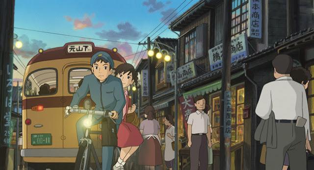 Película La colina de las amapolas de Studio Ghibli, dirigida por Gorō Miyazaki en el año 2011