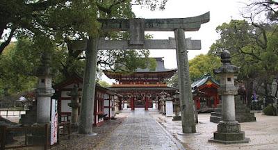 Osaka Tenmangu Shrine Kuil Cantik Di Jepang