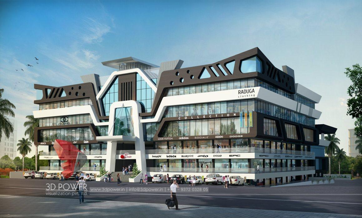 D Front Elevation Of Residential Building : D animation rendering walkthrough interior