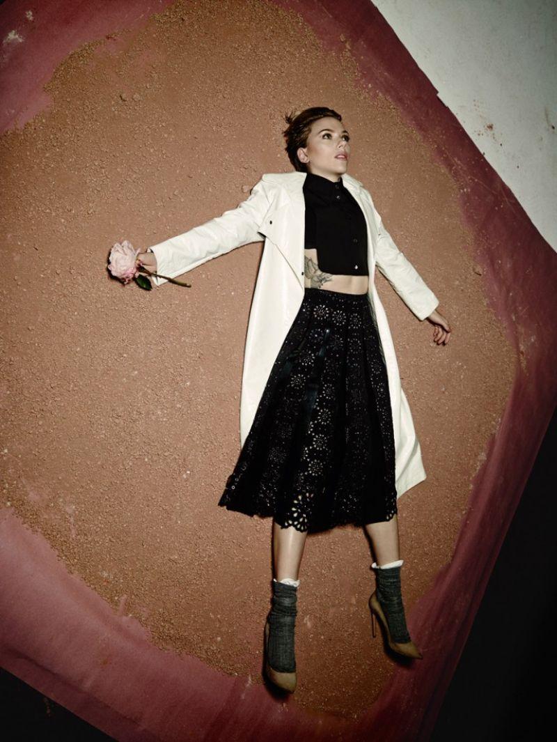 HD Photos of Scarlett Johansson Photoshoot For Flaunt Magazine