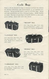 Modelos alforjas Carradice 1940