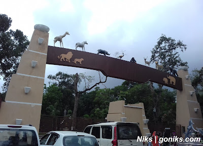 indore zoo main gate