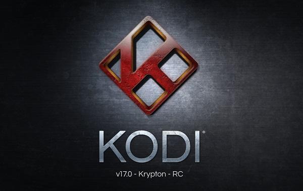 KODI 17 Krypton versión estable RC