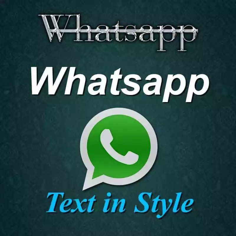 How to change Whatsapp Font style - Text Tricks | Random Tyms