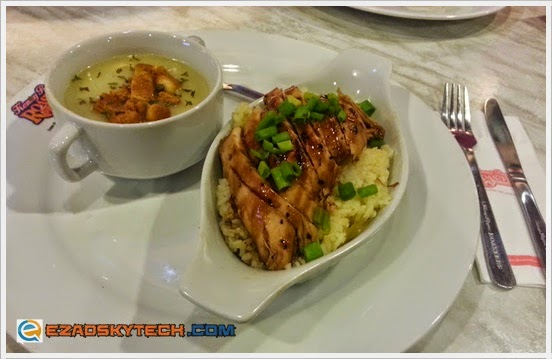 Kenny Rogers Terrific Teriyaki Treat : T-Chic Rice