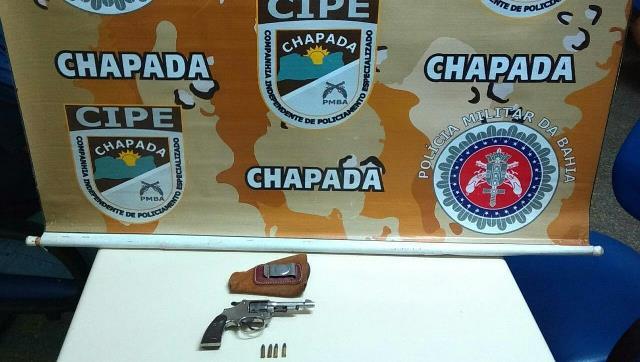 Cipe Chapada captura dupla que ameaçava moradores em Iraquara