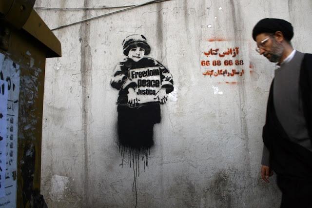 Уличные художники из Ирана. ICY и SOT 16