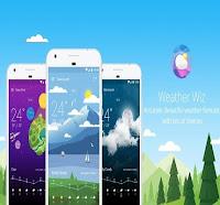 تطبيق Weather Wiz لمتابعة حالة الطقس للأندرويد