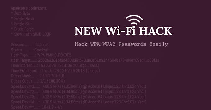 Trik Terbaru Hack WPA/WPA2 Passwords Wifi agustus 2018
