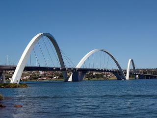 Bridge Juscelino Kubitschek - Brasilia - Brazil