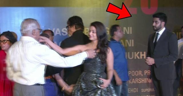 Abhishek-Bachchan-Ignoring-Aishwarya-Rai