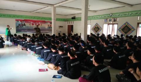Subhanallah! Ratusan Orang di Tangerang Bergabung Jadi Anggota Banser