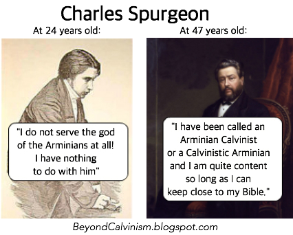 Beyond Calvinism: From Cage-stage to