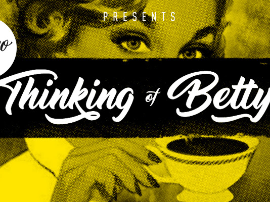Thinking Of Betty Script Brush Font Free Download