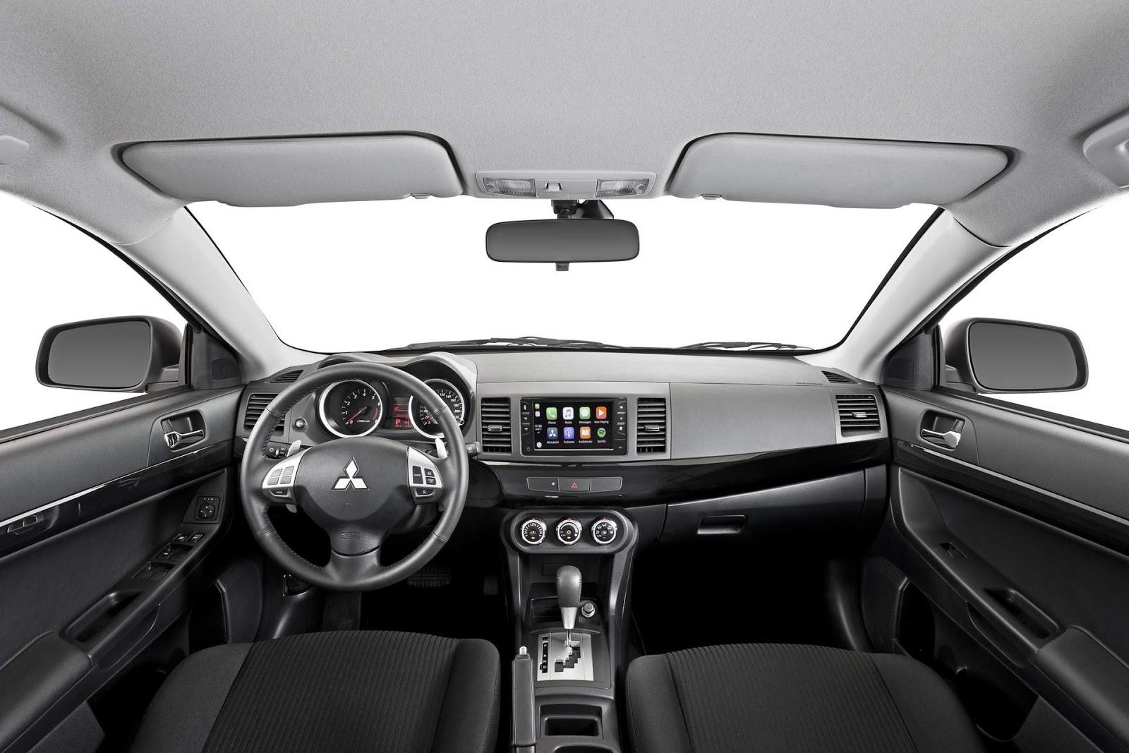 Interior do Mitsubishi Lancer 2019