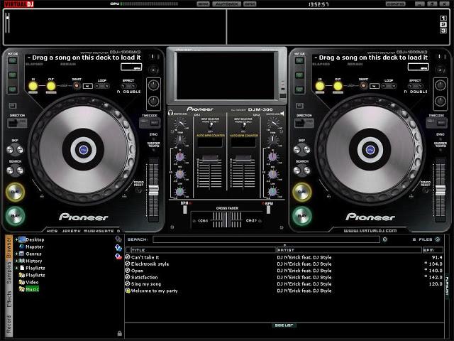 Free Download Atomix Virtual DJ 7 Full Version with Crack